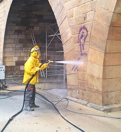 Graffitientfernung Celle